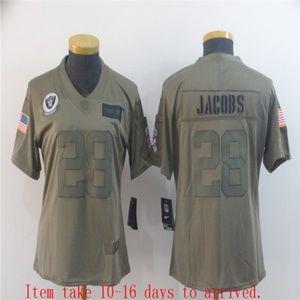 Women Oakland Raiders Josh Jacobs Jersey